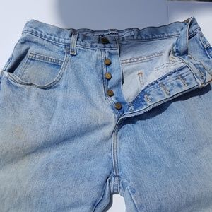 Vintage Gerbaud button fly jeans